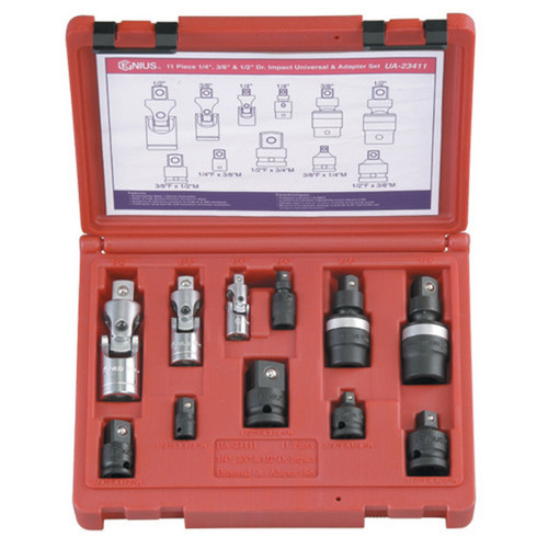 11pc Socket adaptor set  Genius Industrial Quality
