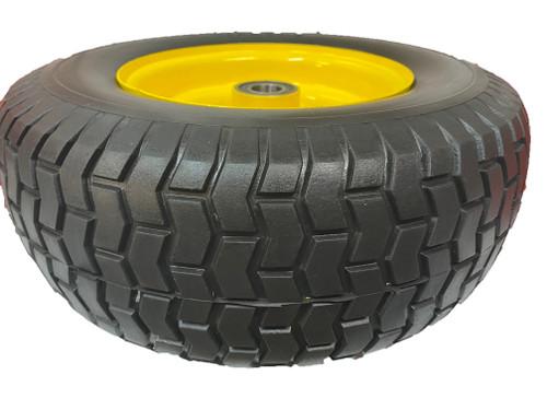 Wheel Barrow Wheel Puncture proof Flat free WIDE 16 x 6.5-8