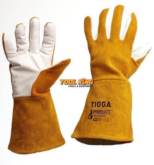 TIG Welding gloves  DEER HIDE LEATHER superior quality