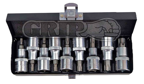 9pc Torx socket set GRIP