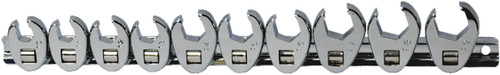 10pc Flare nut Crowfoot wrench set Metric AUZGRIP professional