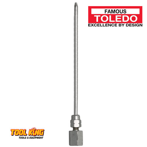 Needle nose grease adaptor 150mm for grease guns TOLEDO