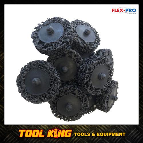 "2"" 50mm x  10pc poly strip ROLOC quick change surface conditioning paint strip discs"