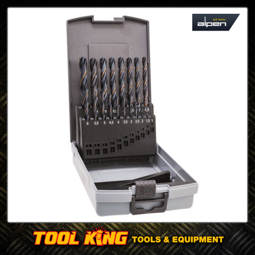 19pc HSS Drill bit set  Made in Europe SUPERIOR QUALITY