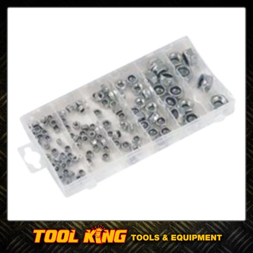 150pc Nyloc Lock Nut Assortment pack METRIC