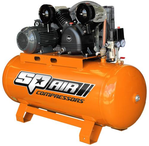 Compressor 5.5Hp 200lt Belt drive SP 415Volt