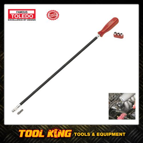 Hose clamp nut driver 600mm flexible TOLEDO professional