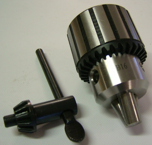 Drill Chuck Heavy Duty key type suits drill press etc