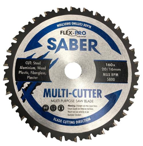 Multi cutter Circular saw Blade 160mm FLEXPRO Cut steel  wood aluminium