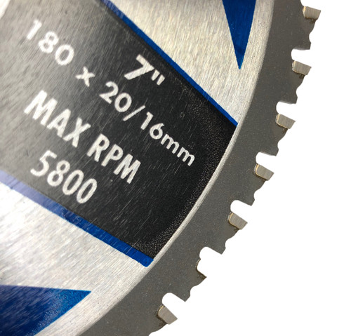 Multi cutter Circular saw Blade 180mm 7inch FLEXPRO Cut steel  wood aluminium