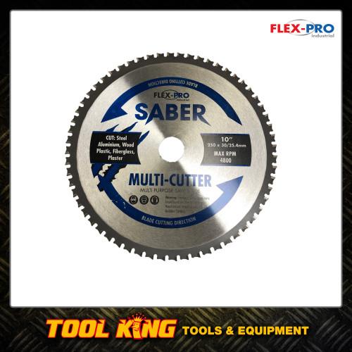 Multi cutter Circular saw Blade 250mm 10inch FLEXPRO Cut steel  wood aluminium