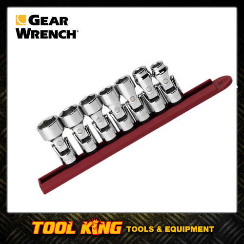"7pc Flex socket set 3/8""Drive SAE GEARWRENCH"