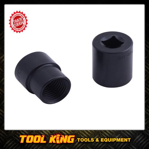 2pc Wheel Lock nut removal socket set