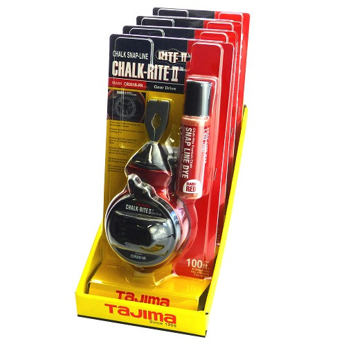 Chalk snap line Gear drive Chalk-Rite Tajima Japan
