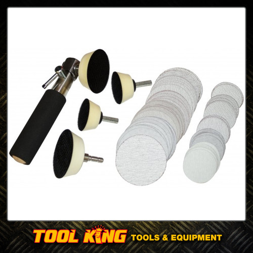 Wood turners Bowl sanding kit 105pc