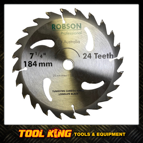 "Circular Saw blade 7-1/4"" 184mm  24teeth  professional grade"