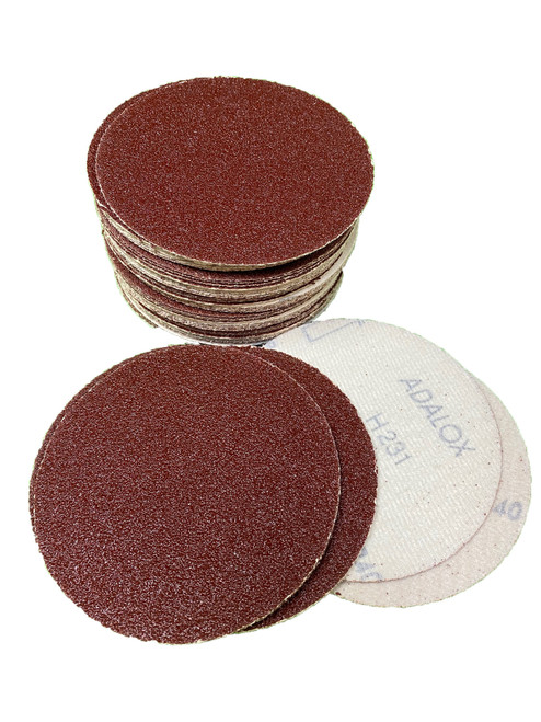 "125mm  sanding discs 5"" Box of 100 discs 80grit NORTON"