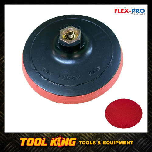 """125mm Backing pad plus 60 x sanding discs to suit 5"""" Angle grinders"""