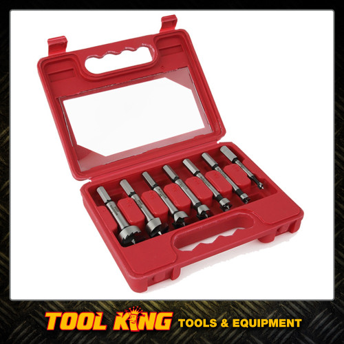 7pc Fostner bit set high quality bits