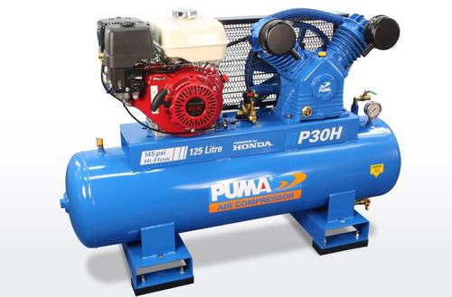 Air compressor Puma P30H with Honda petrol motor