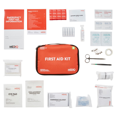 First Aid Kit Motorist 1 Person MEDIQ