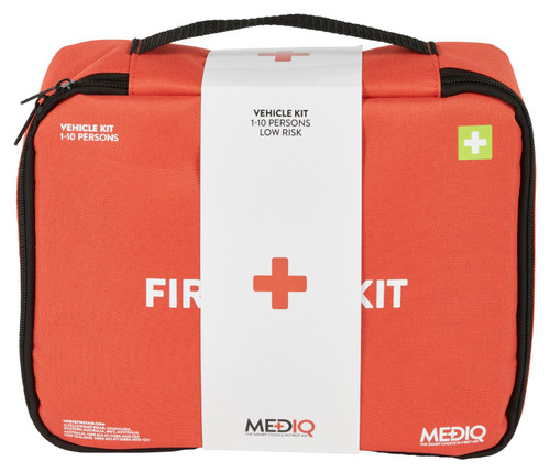 First Aid Vehicle Kit Motorist 1-10 Person MEDIQ