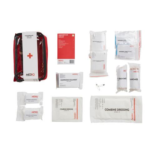 First Aid Kit Haemorrhage major bleeding Module MEDIQ