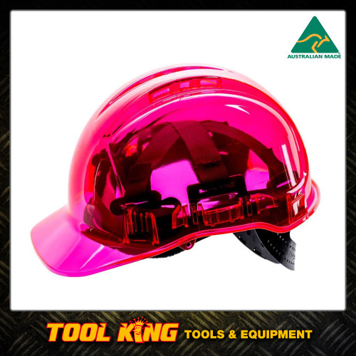 Hard Hat Clearview  vented PINK COLOUR  Australian Made