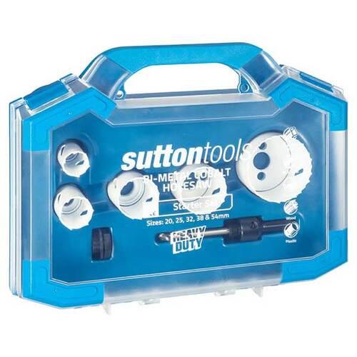 Sutton tools Holesaw set 5pc Bi Metal cobalt