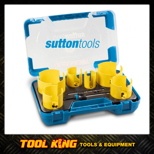 Sutton tools Down Light Holesaw set 6pc TCT tipped