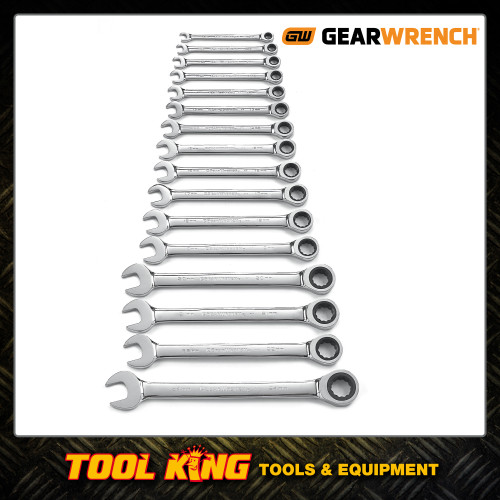 Gearwrench 16pc Ratchet spanner set Metric