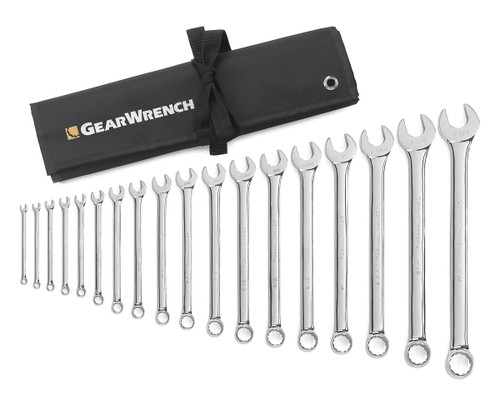 Gearwrench 18pc Combination spanner set SAE