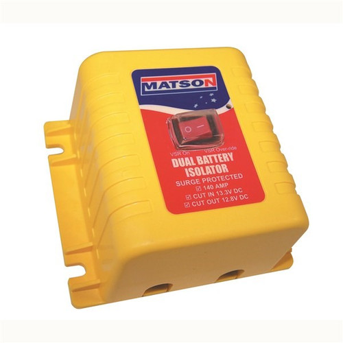 MATSON Low voltage Dual battery isolator 12V 140A
