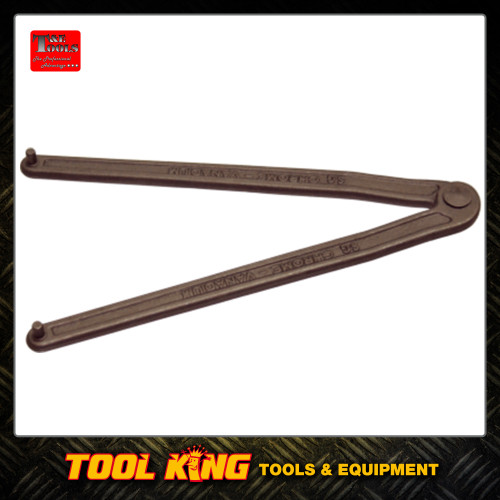 Adjustable face pin wrench  T&E Tools