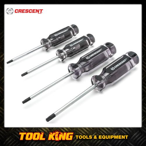Crescent 4pc Torx screwdriver set