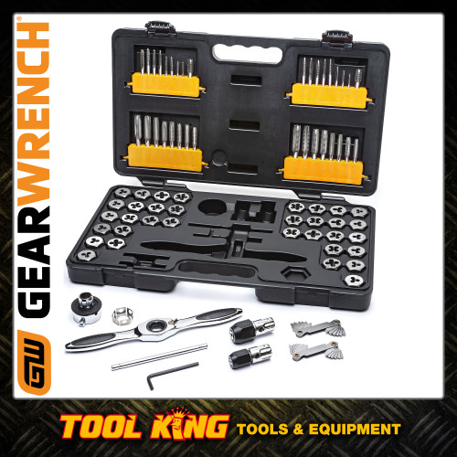 GEARWRENCH 77pc Ratchet tap and die set