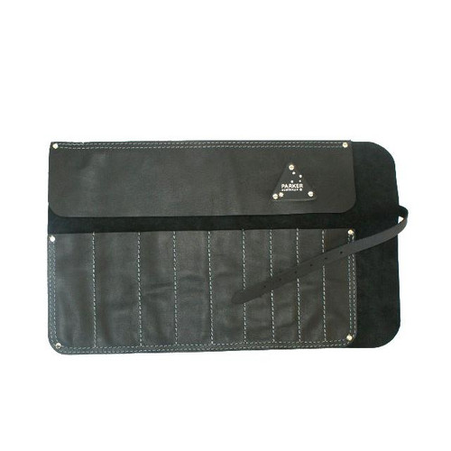 Leather Tool roll suit spanners & chisels Australian Made