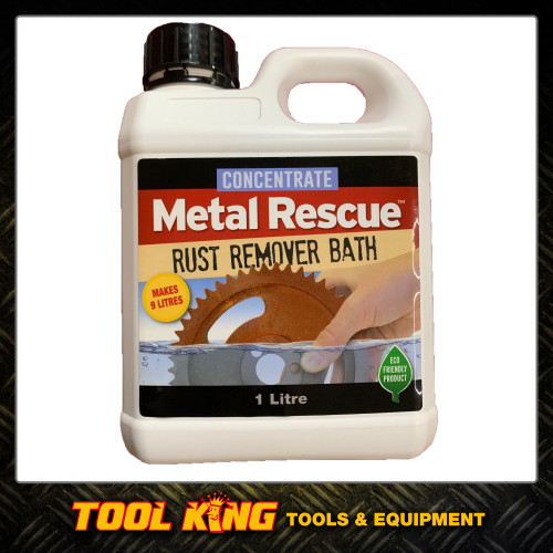 Workshop hero Metal rescue rust remover Bath 1lt Concentrate