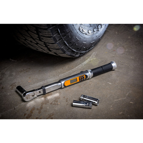 """GEARWRENCH Flex Head Electronic Torque wrench 1/2"""""""