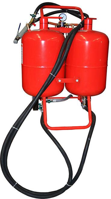 Abrasive Soda Blaster 76 Litre Dual Tank