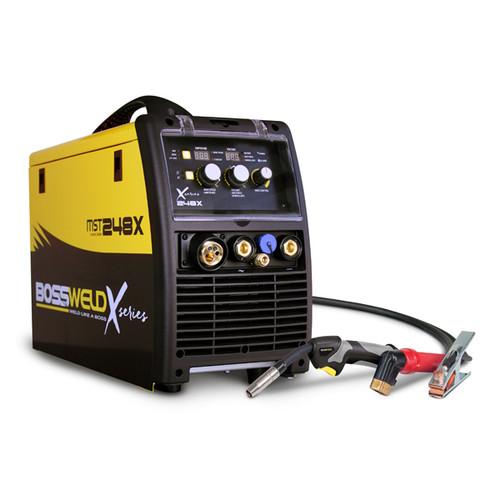 Bossweld X-Series MST 248X MIG/STICK/TIG Inverter Welder