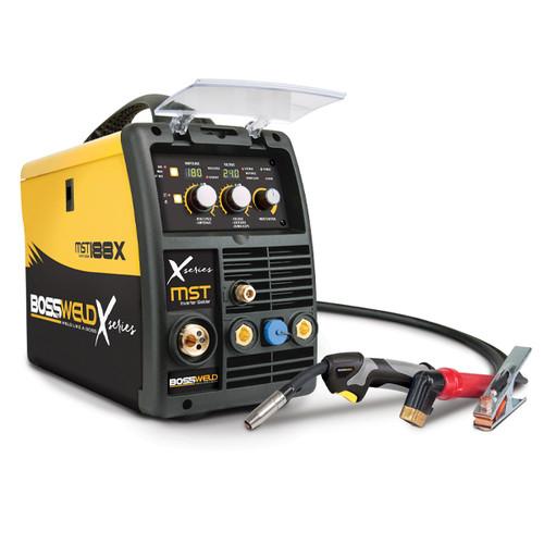 Bossweld X-Series MST 188X MIG/STICK/TIG Inverter Welder