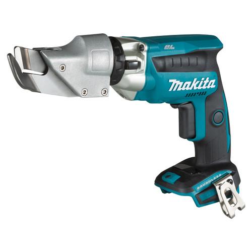 Makita 18V 1.3mm Cordless Brushless Offset Metal Shear (Skin) DJS131Z
