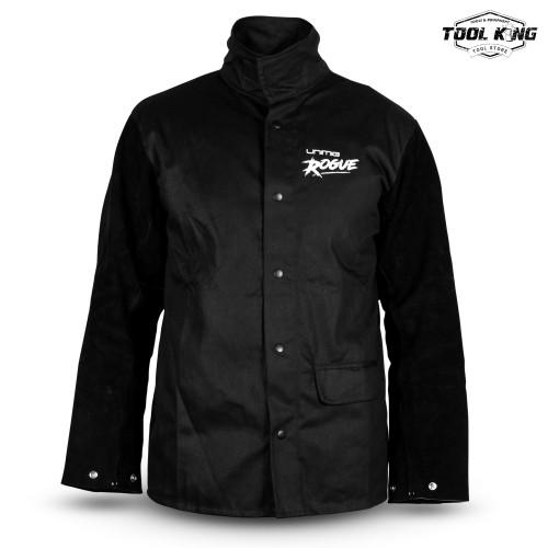 UNIMIG ROGUE™ Leather Sleeved Welding Jacket LG