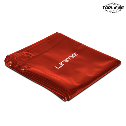 UNIMIG Welding curtain Red