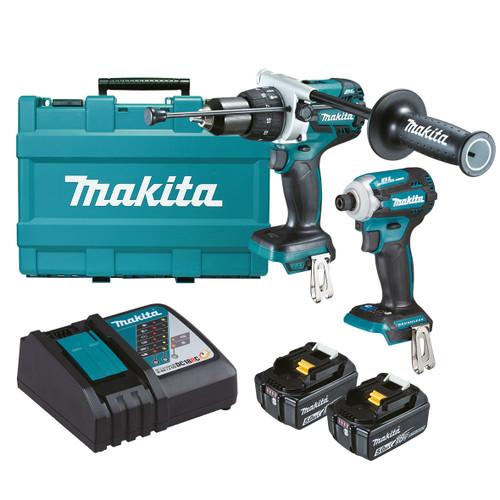 Makita 18V Brushless 2-Piece Combo Kit DLX2308T