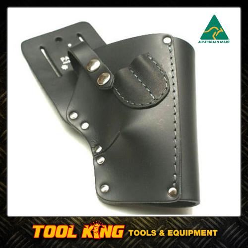 Leather Cordless drill holster RH Australian Made