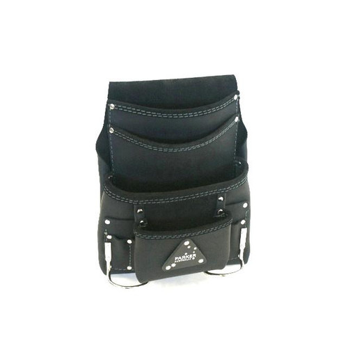 Leather Nail bag 4pocket  Australian Made PNB4P(FH)