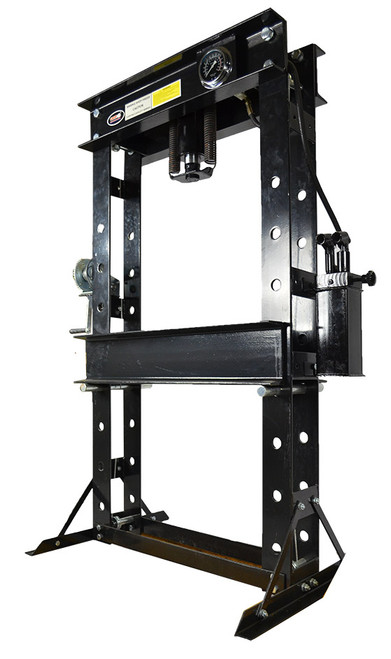 50 Ton H type Shop Press with 2 speed pump