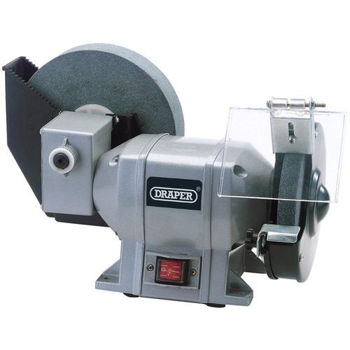 Draper Tools Wet and Dry Bench Grinder sharpener 78456